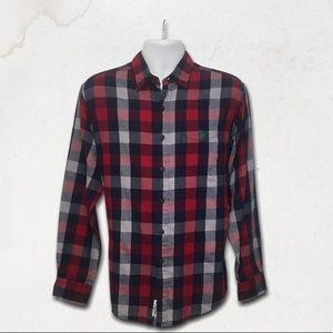 U.S POLO ASSN. Red Plaid Button Up Dress Shirt